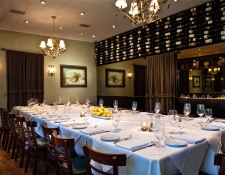 Cucina Room Imperial table configuration for up to 20 guests.
